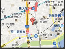 大阪本社マップ