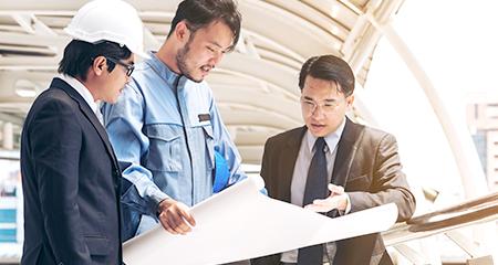 構造設計事務所が⾏う建設業